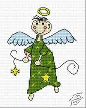Christmas Angel of Books by HaftiX - patterns - 01141