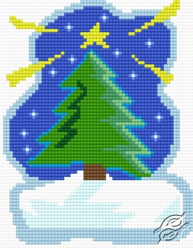 Christmas Tree by HaftiX - patterns - 01170