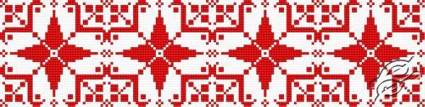 Ukrainian Embroidery - Ornament 129 by HaftiX - patterns - 00129