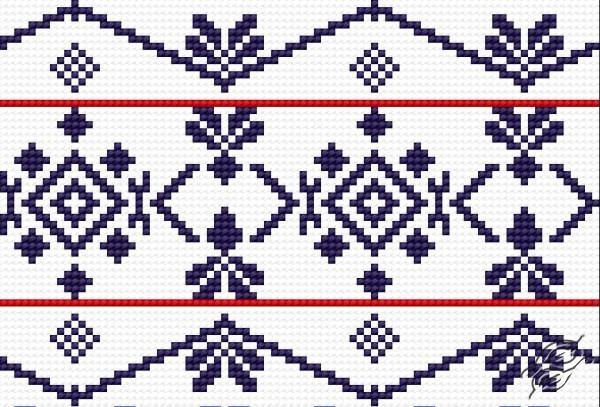 Traditional pattern from Wlodawa VI by HaftiX - patterns - 00796