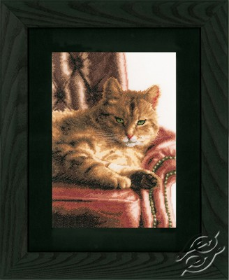 Lounging Cat by Lanarte - PN-0146177