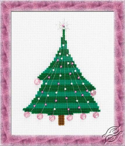 Christmas Tree With Crystal Balls by RIOLIS - 1352