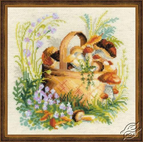 Mushroom Basket by RIOLIS - 1363