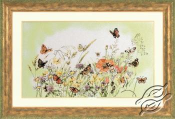 Flowers/Butterfly M.B. by Lanarte - PN-0007967