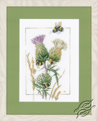 Thistle Bees by Lanarte - PN-0021621