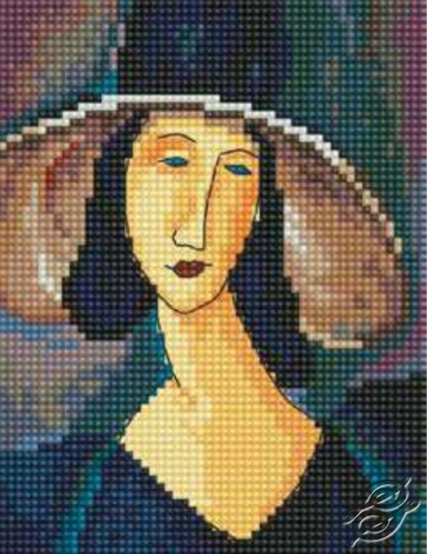 Portrait Of Woman In Hat by RTO - EH336