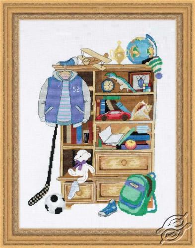 Boy's Locker by RIOLIS - 1372