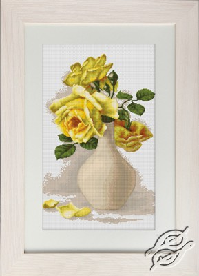 Yellow Roses by Luca-S - B508