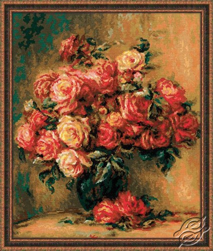 Bouquet of Roses by RIOLIS - 1402