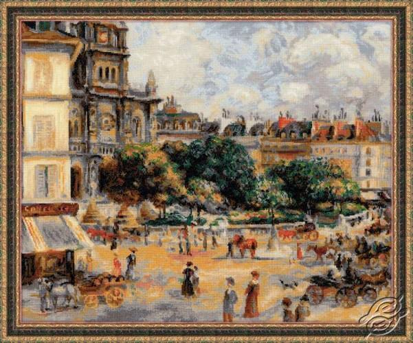 Square of the Trinity. Paris by RIOLIS - 1396