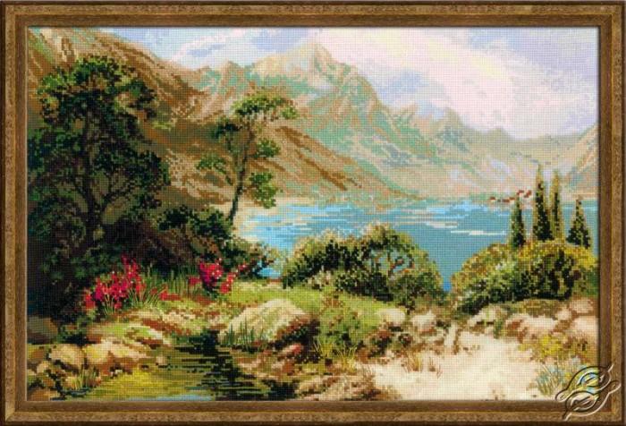 Mountain Lake by RIOLIS - 1397