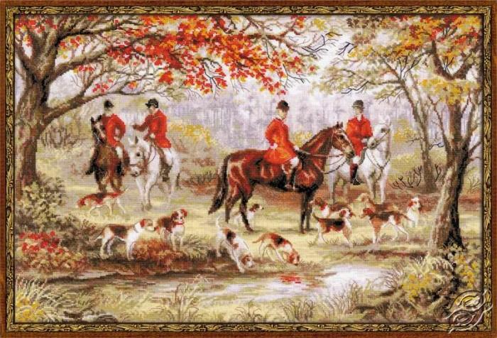 Fox Hunting by RIOLIS - 1431