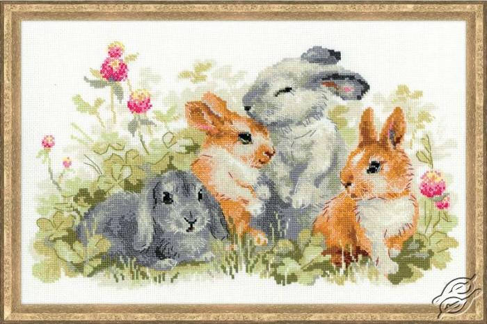 Funny Rabbits by RIOLIS - 1416