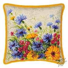 Moorish Lawn Cushion by RIOLIS - 1413