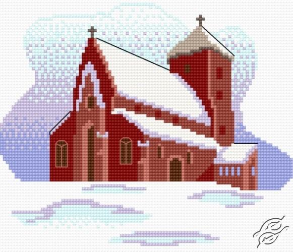 Winter Church by HaftiX - patterns - 01180