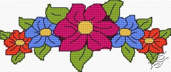 Flower Motif by HaftiX - patterns - 1182
