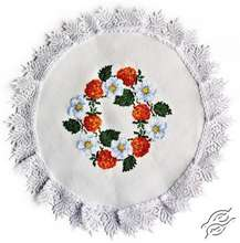 Doily With Strawberries by Alisena - 1080
