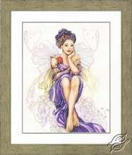 Purple Butterfly Girl by Lanarte - PN-0150005