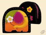 Felt Elephant Purse - Cosmetics Bag by RIOLIS - 1338AC