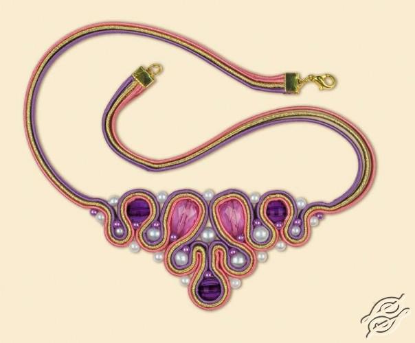 Soutache necklace - Drops by RIOLIS - 1345AC
