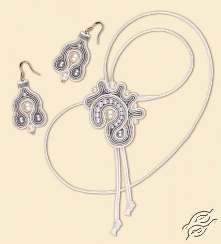 Soutache necklace - Nautilus by RIOLIS - 1346AC