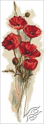 Oriental Poppies I by RTO - M449