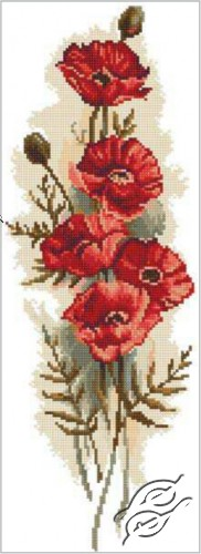 Oriental Poppies II by RTO - M450
