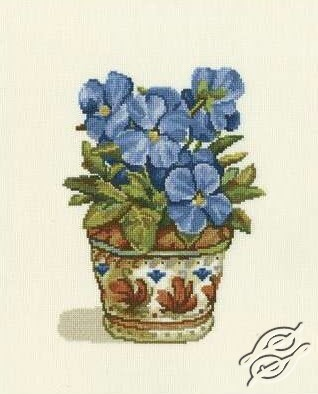 Blue Violets by RTO - C188