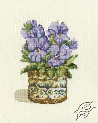 Purple Violets by RTO - C190