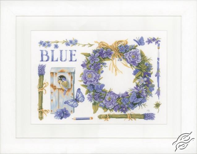 Lavender Wreath by Lanarte - PN-0149994