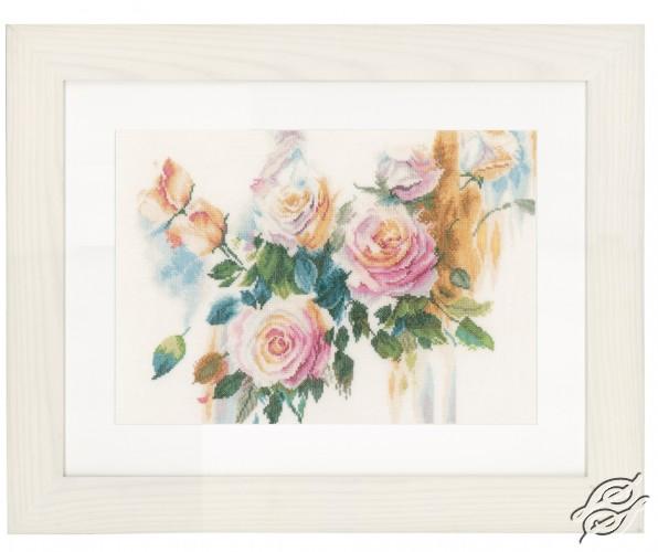 Pink Roses Bouquet by Lanarte - PN-0151017