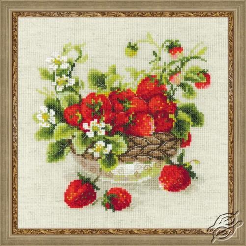 Garden Strawberry by RIOLIS - 1449