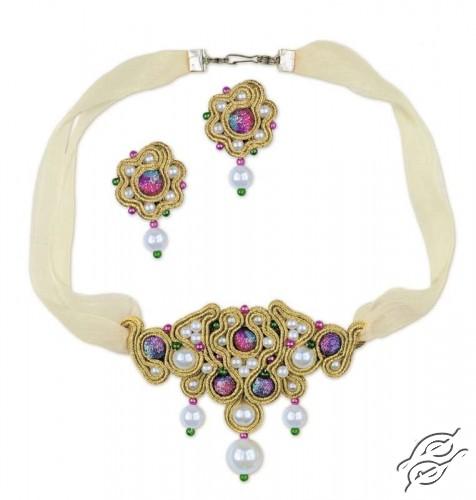 "Soutache necklace ""Eastern Tale"" by RIOLIS - 1412AC"