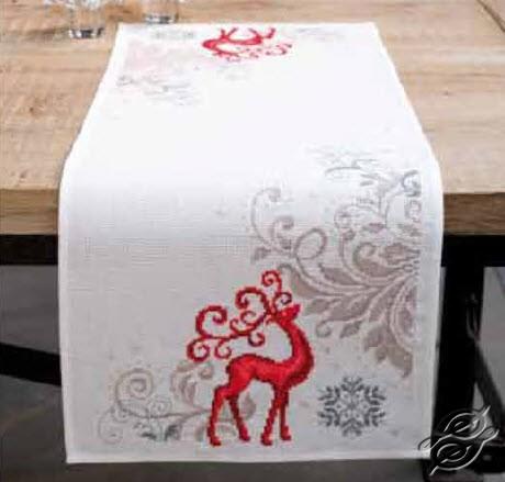 Table Runner - Proud Deer by Vervaco - PN-0150194