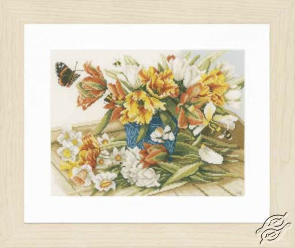 Daffodils-Tulips by Lanarte - PN-0154324