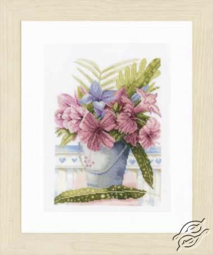 Flowers in Bucket by Lanarte - PN-0154326