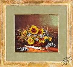 Sunflowers In Basket by Alisena - BN-1042