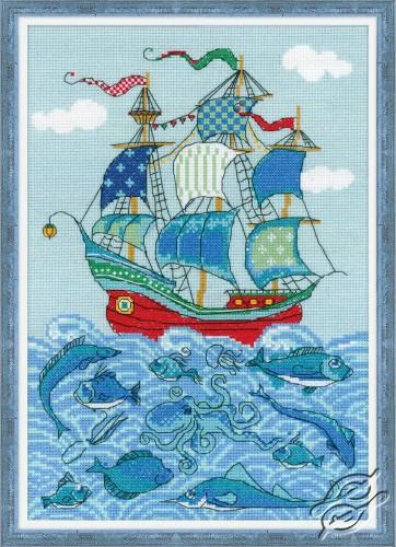 Sailboat by RIOLIS - 1465