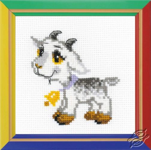 Little Gray Goat by RIOLIS - HB154
