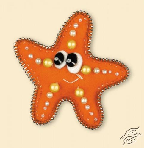 Brooch Starfish by RIOLIS - 1410AC