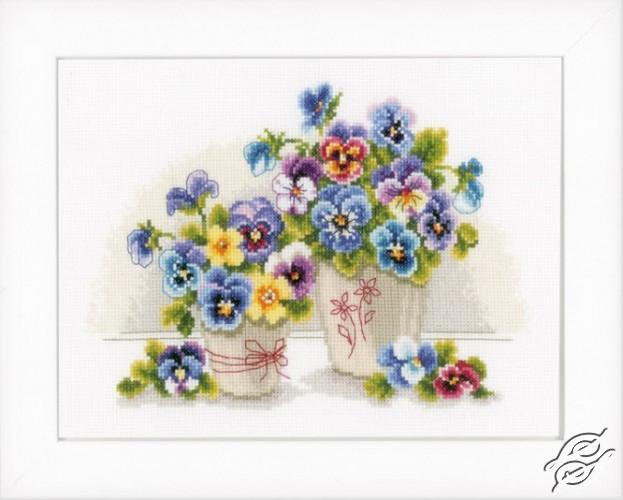Pretty Pansies by Vervaco - PN-0146578