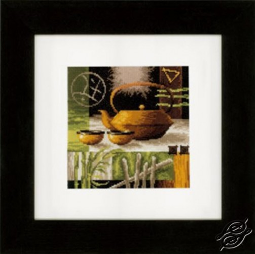 Asian Tea Ceremony - Yellow Teapot by Vervaco - PN-0148120