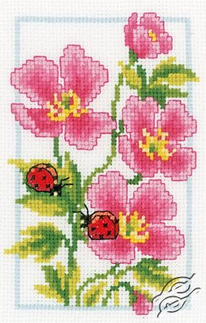 Pink Geranium by Vervaco - PN-0146886