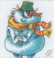 Smiling Snowman by RTO - H208