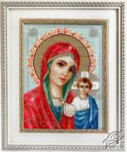 Icon of the Mother of God of Kazan by Luca-S - BR111