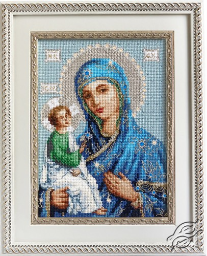 Icon of the Mother of God in Jerusalem by Luca-S - BR114