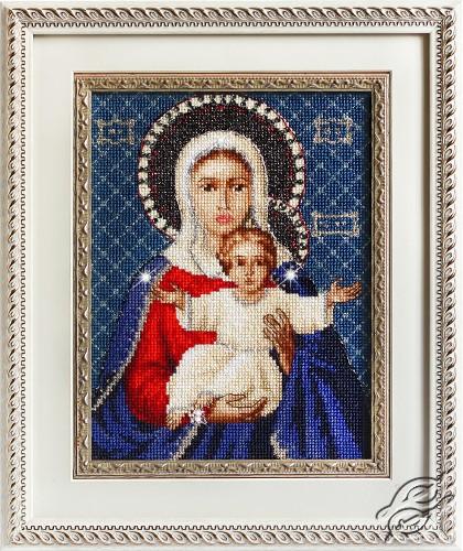 Leushinskaya Mother of God by Luca-S - BR115