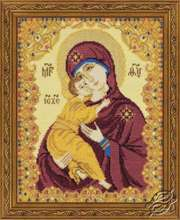 Our Lady of Vladimir by RIOLIS - 1300
