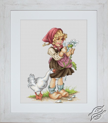 Girl With Goose by Luca-S - B1047