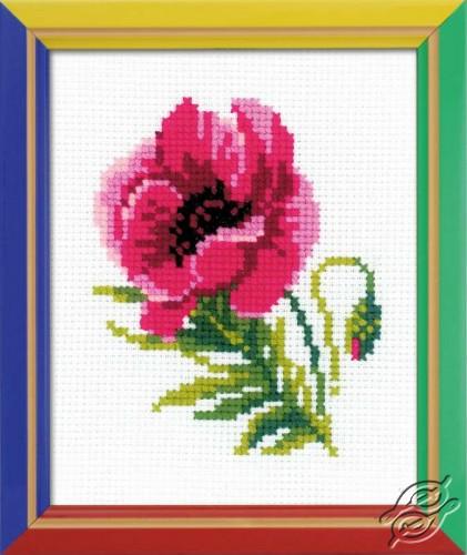 Pink Poppy by RIOLIS - HB134